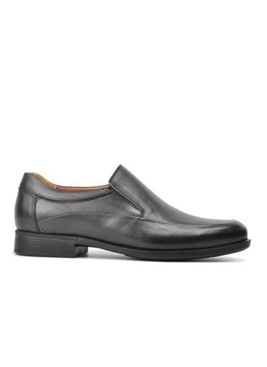 Ayakmod 822 Siyah Hakiki Deri Comfort Günlük Ayakkabı Siyah